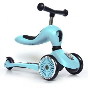 Porteur & trottinette Highway Kick 1 bleu Scoot and Ride  Accueil
