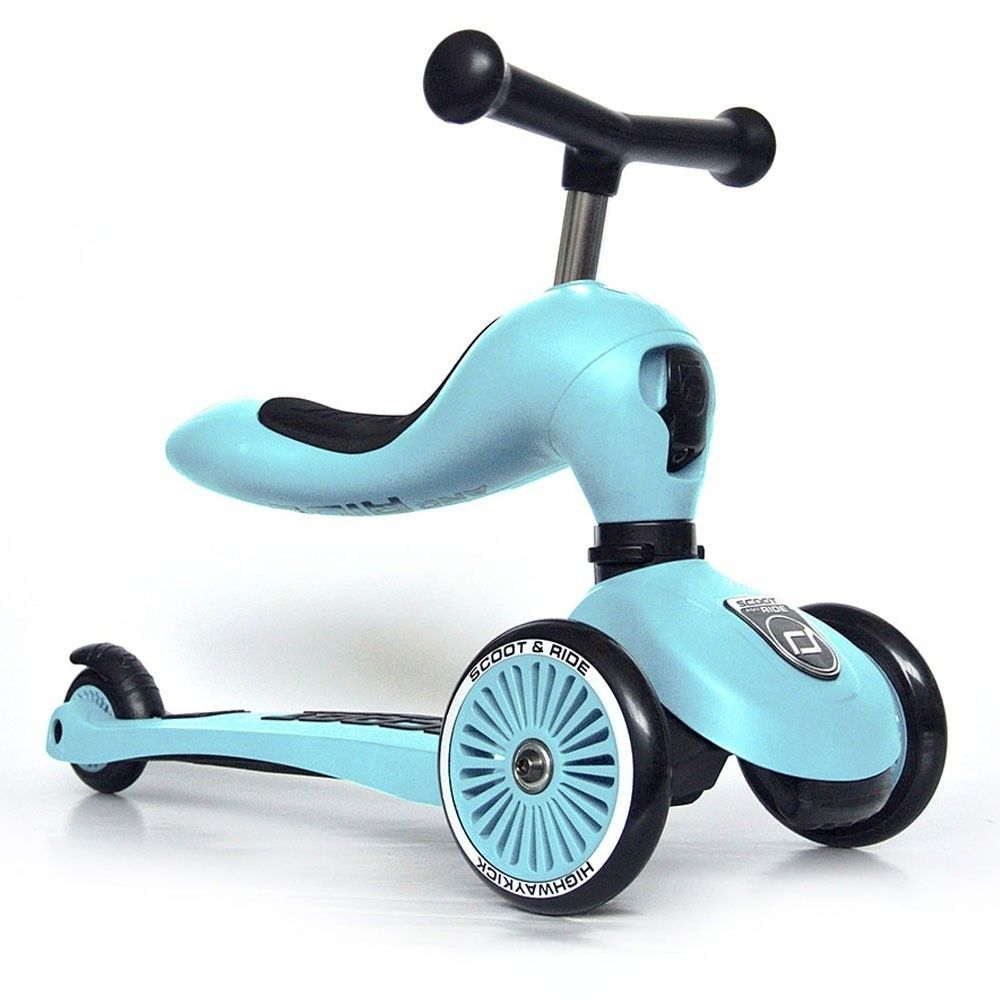 Porteur & trottinette Highway Kick 1 bleu Scoot and Ride  Produits