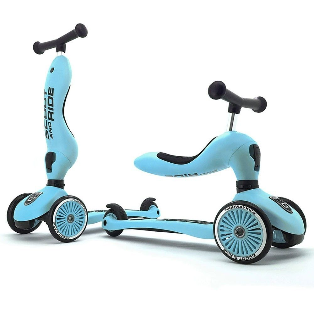 Porteur & trottinette Highway Kick 1 bleu Scoot and Ride  Produits