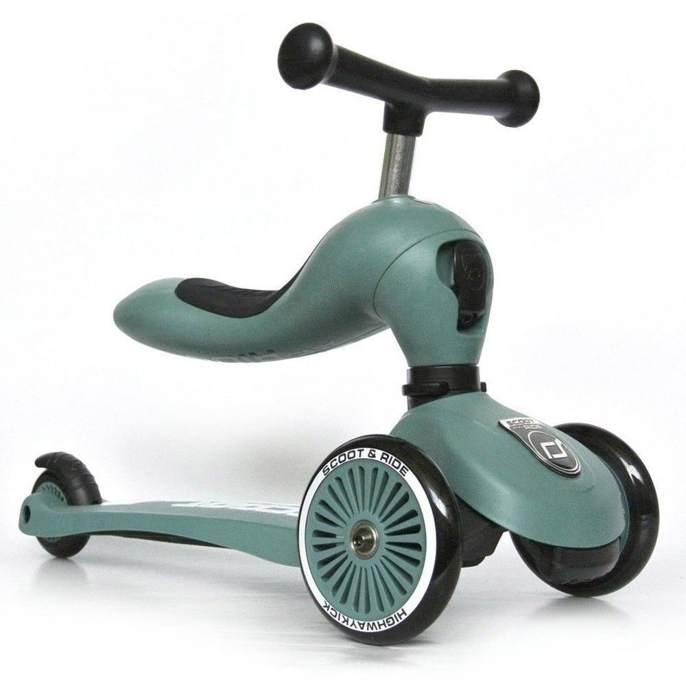 Porteur & trottinette Highway Kick 1 vert forest Scoot and Ride  Produits