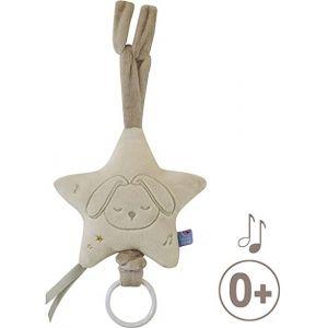 Jouet boite à musique étoile lapin Sucre d'orge  Produits