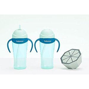 Tasse à paille bleu Babymoov  Produits