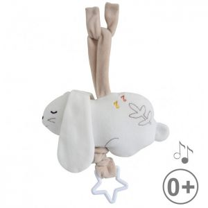 Jouet musical lapin sucre d'orge  Accueil
