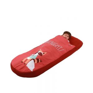 Lit appoint gonflable avec matelas gonflable Go Dodo rouge Safety First  Produits