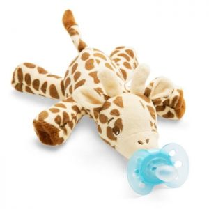Attache sucette peluche ultra douce Girafe Philips Avent  Accueil