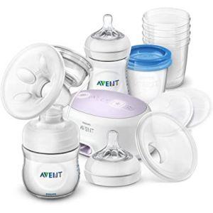 Tire-lait électrique + pack allaitement Philips Avent  Accueil