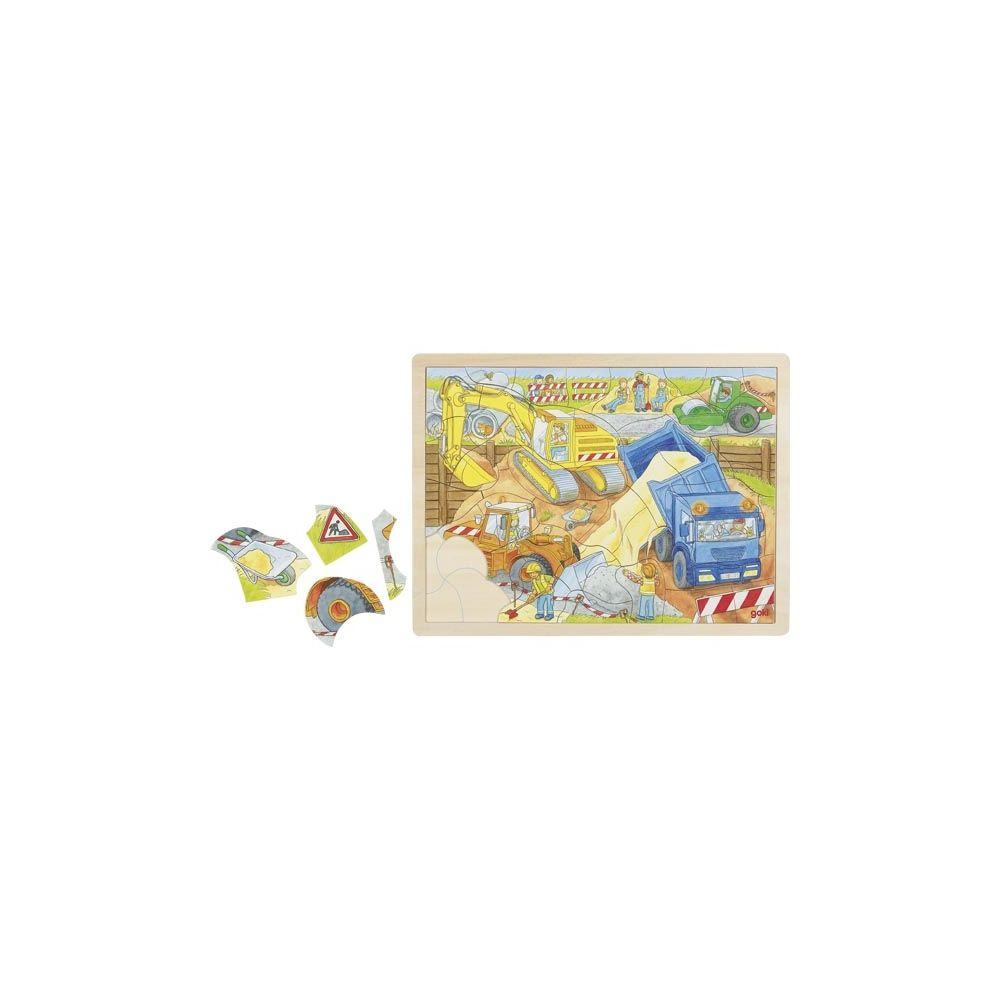 Puzzle chantier Goki  Produits