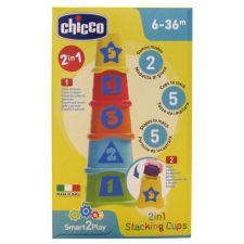 SMART2PLAY Cubes à empiler 2 en 1 Chicco  Produits