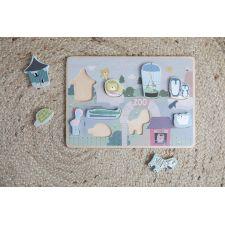 Puzzle bois zoo 9 pièces Little dutch  Produits