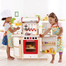 Cuisine enfant multifonction bois E8018 Hape  Produits