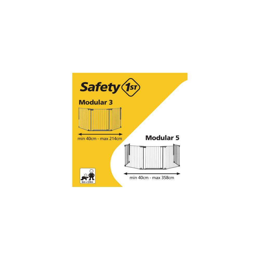 Barrière d'escalier de sécurité modular 5 Safety First  Produits