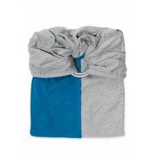 Echarpe sans noeud bleu canard Love radius  Produits