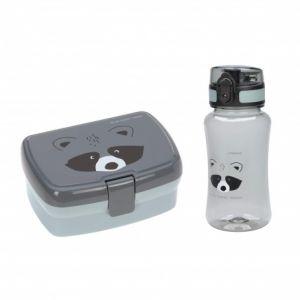 Lunch box boite à gouter + gourde plastique Lassig  Produits
