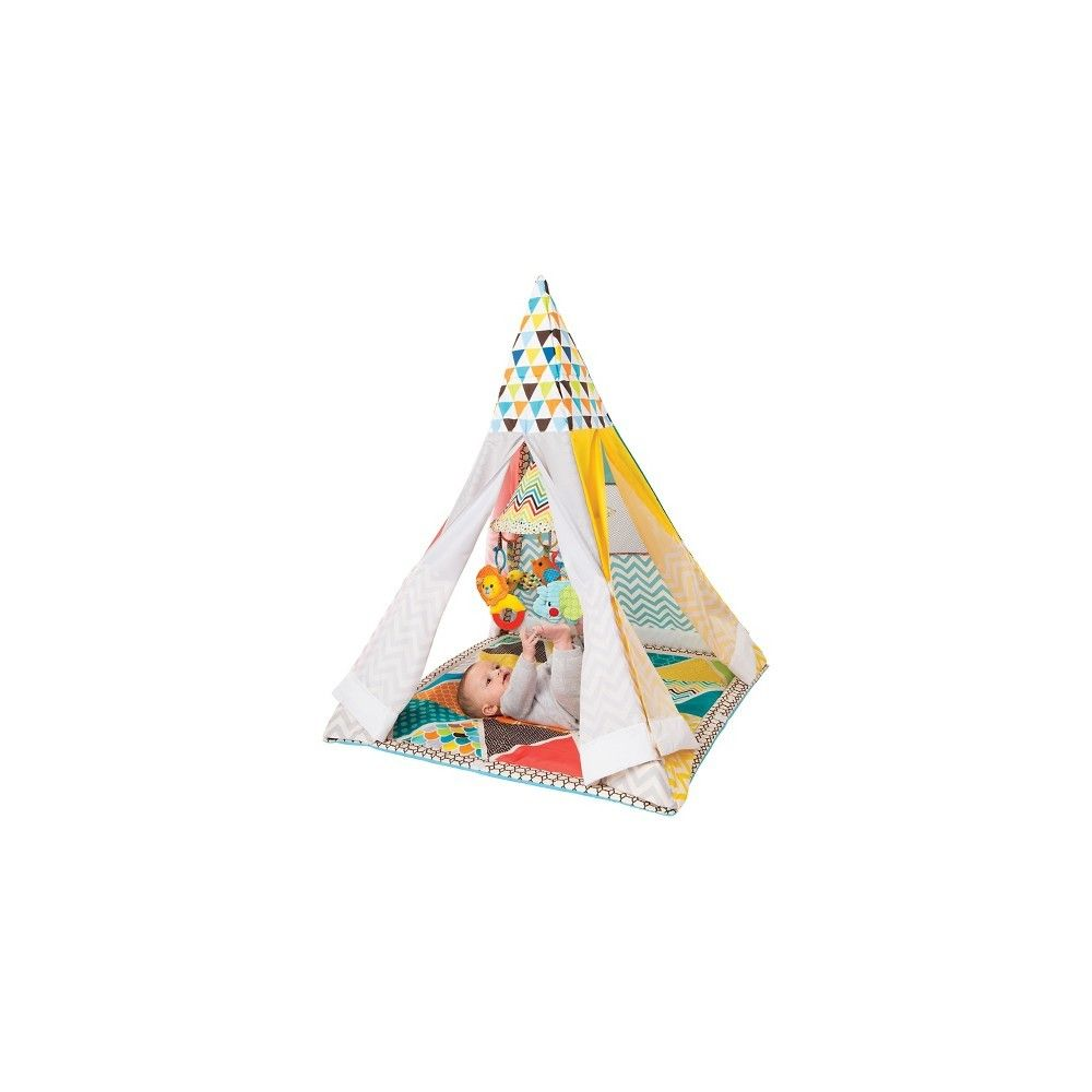 TENTE Play Gym and Fun Teepee Infantino  Accueil