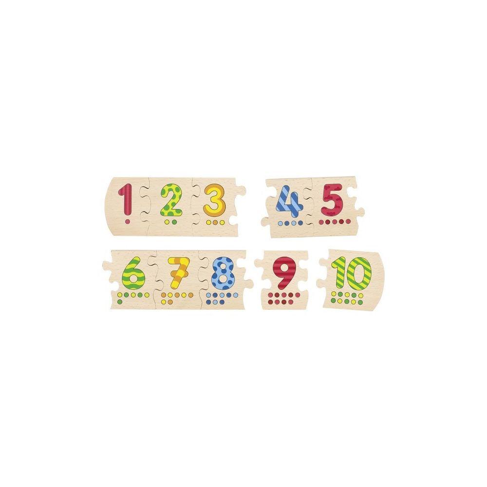 Puzzle de chiffres Goki  Produits