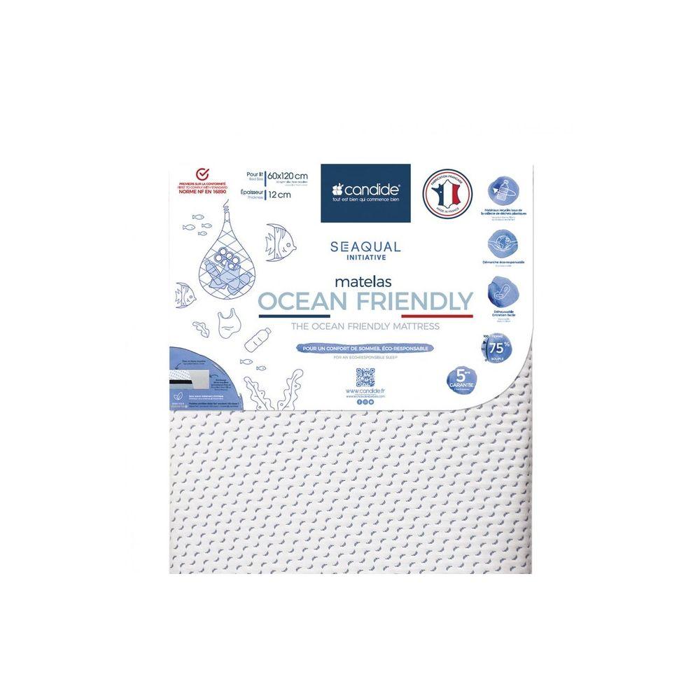 Matelas Ocean Friendly déhoussable 70x140 Candide  Produits