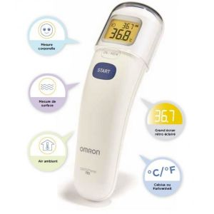 Thermomètre frontal sans contact 3 en 1 Omron Gentle Temp 720  Accueil