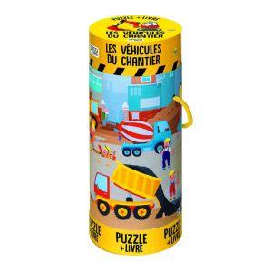 Puzzle les véhicules du chantier  Accueil