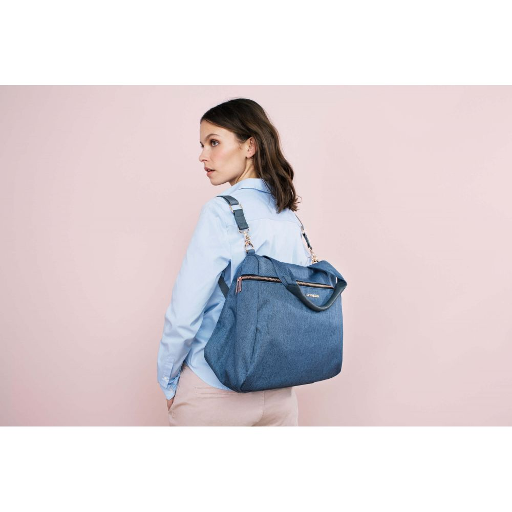 Glam Rosie Sac à langer bleu Lasssig  Produits