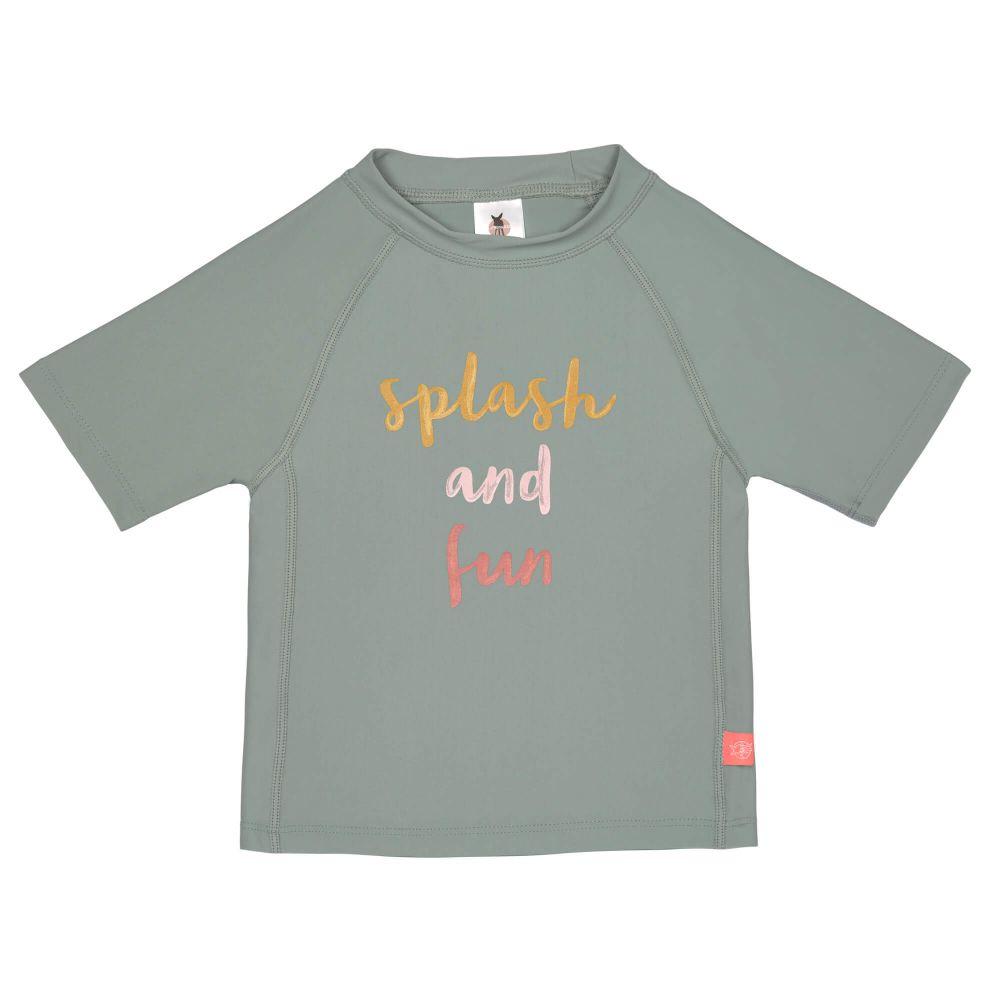 T-shirt à Manches Courtes Filles, Splash et Fun vert Lassig  Produits