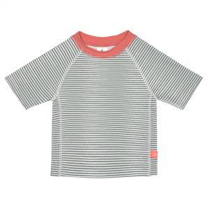 T-shirt à Manches Courtes Filles, Rayures corail lassig  Produits