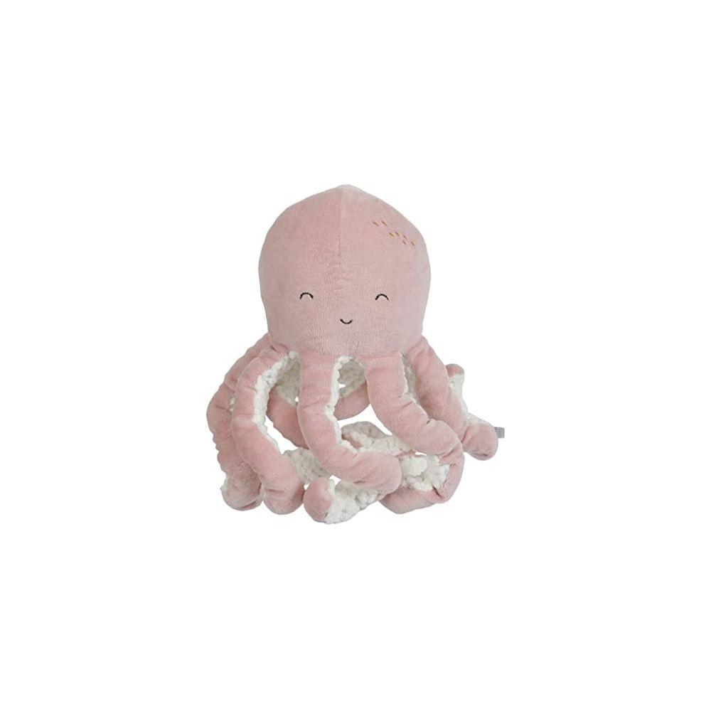 Peluche Pieuvre Ocean Pink Little dutch  Produits