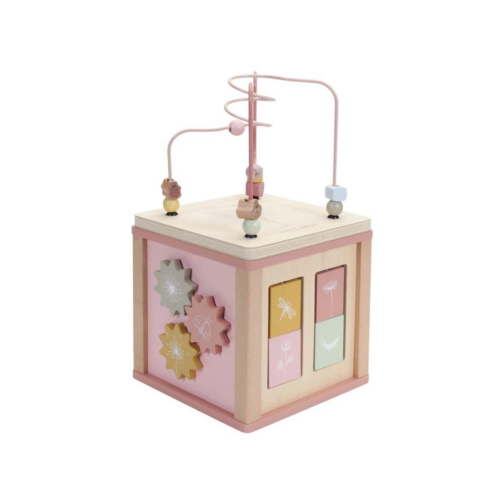 Cube d'activité en bois wild flowers Little dutch  Produits