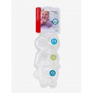 Coffret de 3 anneaux de dentition cristal Infantino  Produits