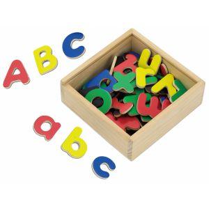Lettres magnétiques 52 pièces multicolores Viga Toys  Produits