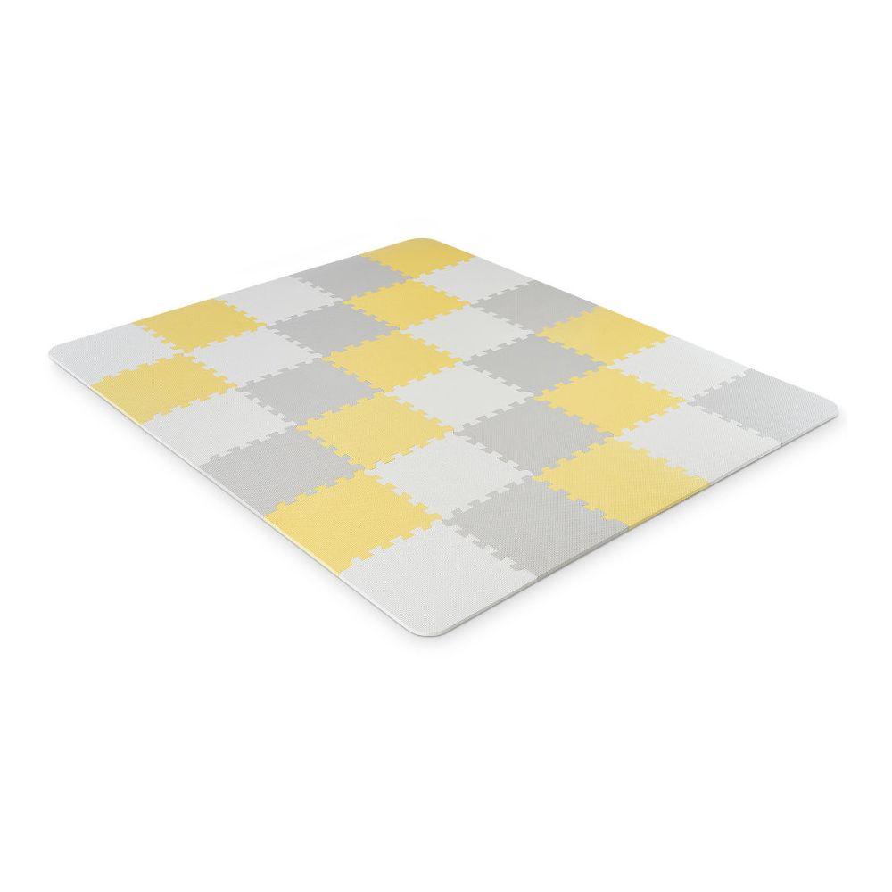 Tapis puzzle enfant Luno mousse, jaune Kinderkraft  Produits