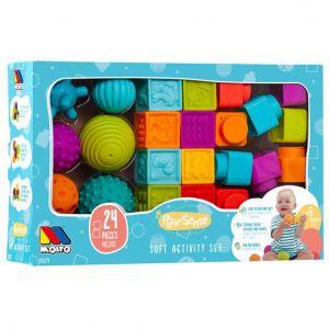 Jeu sensoriel Bébé Play & Sense Molto 24 pcs  Produits