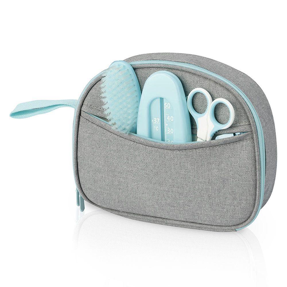 Trousse de soins et de toilette nomade bleu Babymoov  Produits