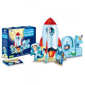 Puzzle 3D Fusée lunaire Sassi  Accueil