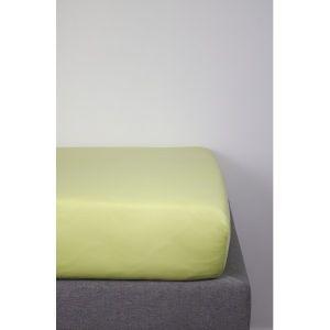Drap housse coton bio vert 60x120cm pour lit bébé  Produits