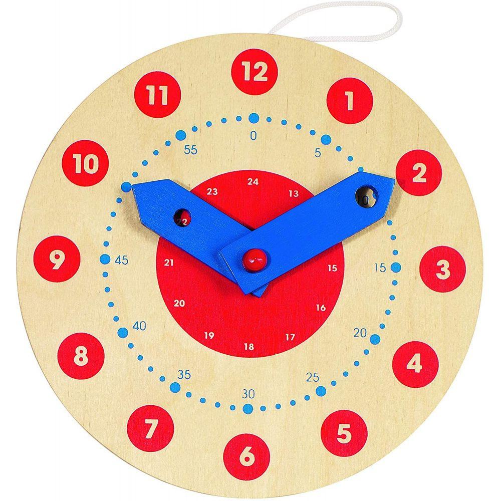Horloge, apprendre à lire l'heure, Peggy Diggledey Goki  Produits