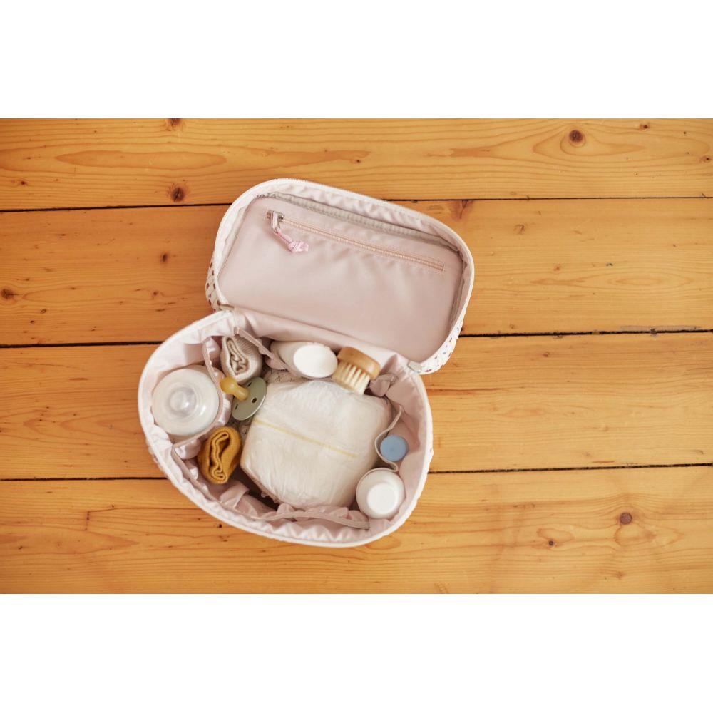 Vanity Pour Bébé Nomade Fleurs blanc Lassig  Produits