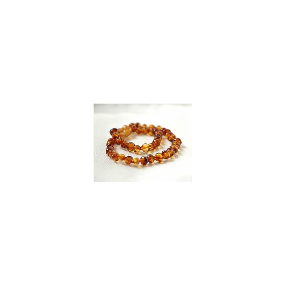 Collier ambre baroque poli Irréversible  Produits
