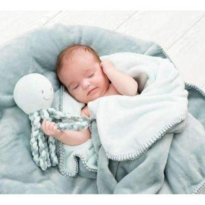 Peluche bébé pieuvre Nattou  Accueil