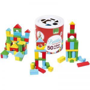 Batibloc 50 cubes bois Vilac  Accueil