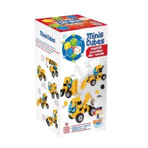 Jeux de construction mini cube chantier Buki  Accueil