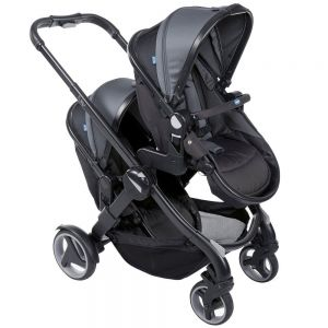 Poussette double convertible fully twin Chicco  Accueil