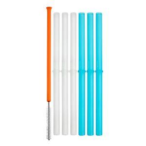 6 pailles réutilisables et une brosse de nettoyage Boon  Produits