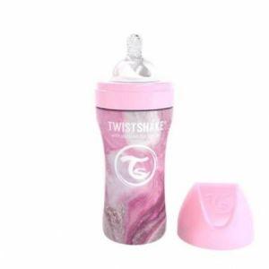 Biberon Inox anti-coliques 260 ml Twistshake  Accueil