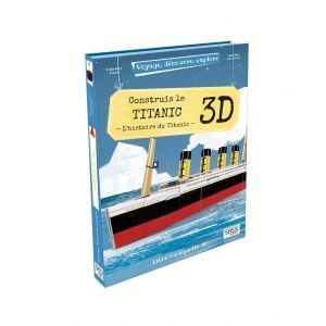 Puzzle le Titanic 3D SASSI  Produits