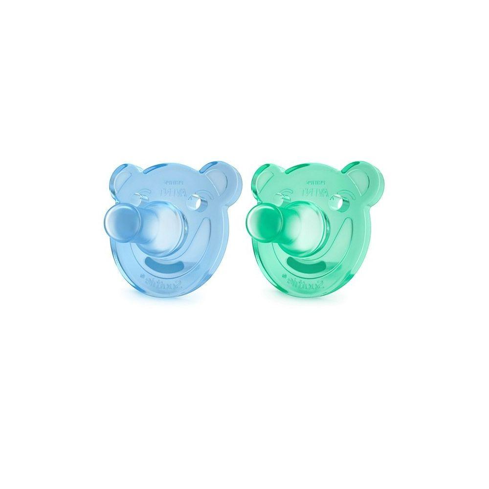 Sucette soothie blue/vert Philips Avent  Produits