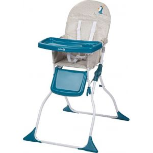 Chaise haute Keeny Turquoise Safety  Accueil