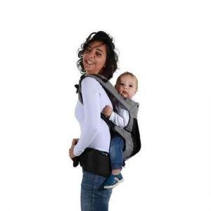 Porte bébé physiologique gris Physionest Safety First  Accueil