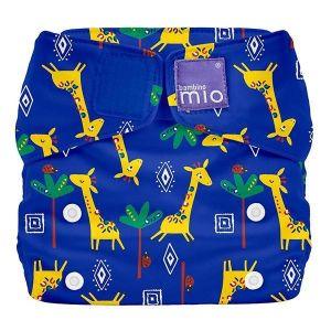 Couche lavable tout-en-un Giraffe Misolo Bambino Mio  Accueil