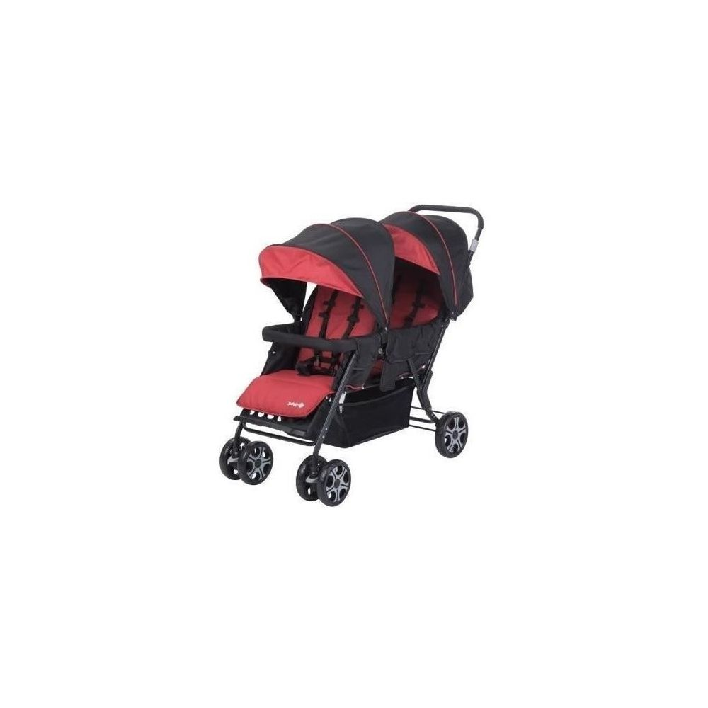 Poussette double/tandem rouge Teamy Safety First  Produits
