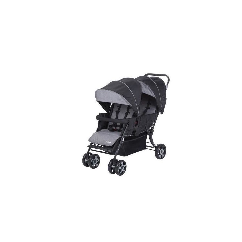 Poussette double/tandem gris Teamy Safety First  Produits